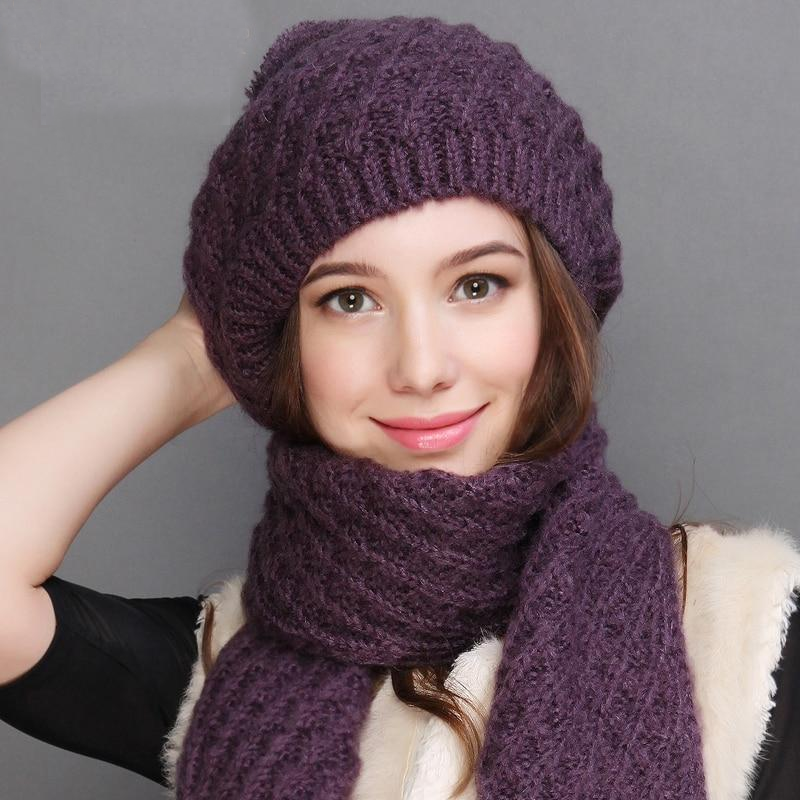 womens hat and scarf set